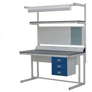 Cantilever Workbench with Vinyl Worktop