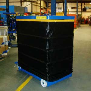 Bellow Skirts For Mobile Scissor Lift Tables