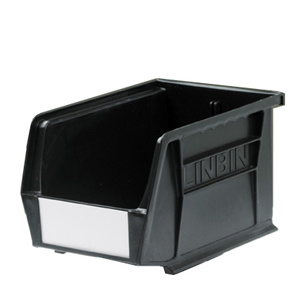 Black Recycled Linbin Storage Containers