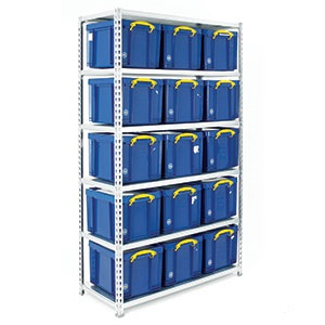 Boltless Shelving and Container Kits