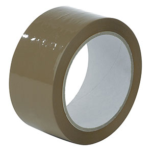 Brown Packing Tape 66 Metre Rolls