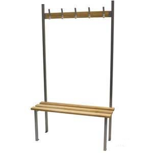 Classic Single Sided Cloakroom Bench Seat
