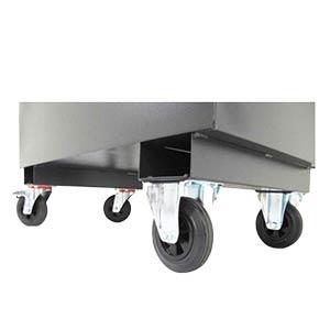 Castors for Armorgard Storage Chests & Site Boxes