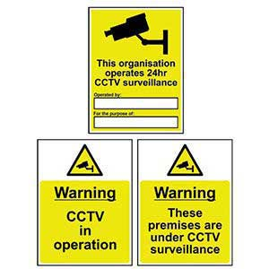 Public Awareness / CCTV Signs