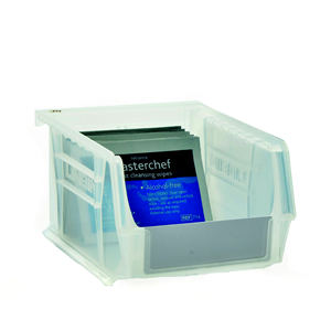 Clear Anti-Bacterial Linbins