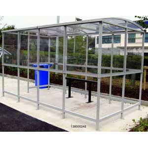 Clear Dome Smoking Shelters
