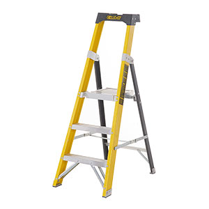 Climb-it® Glass Fibre Platform Stepladder