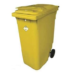 Wheeled Clinical Waste Container