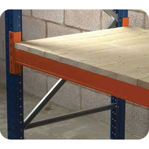 Closed Boarded Timber Decking for Pallet Racking