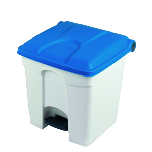 Coloured Lid Pedal Bins