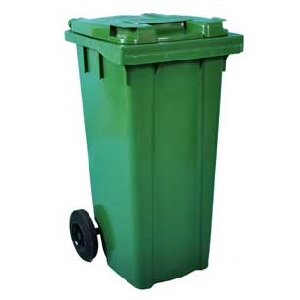 Coloured Wheelie Bins 120ltr to 360ltr capacity