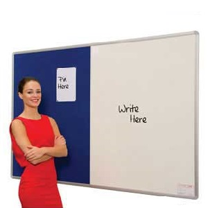 Combination Pinup Noticeboards / Whiteboards
