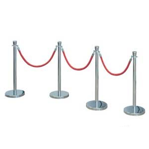 Complete Sets of Barrier Rope and Posts