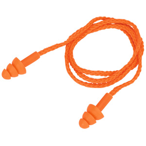 PPE Corded Ear Plugs in Packs of 10 with Fast UK Delivery