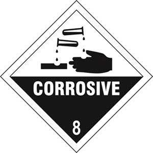 Corrosive 8 Diamond Labels