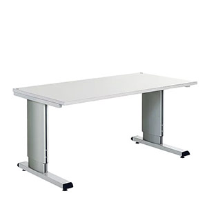 Cranked Height Adjustable ESD Protected Workbench WB