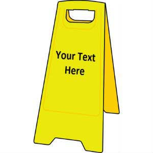Custom Floor Sign Stand Ese Direct