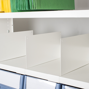Shelf Dividers for Delta Plus Shelving