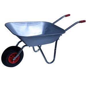 DIY Garden Metal Wheelbarrow