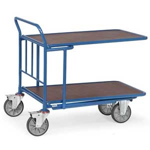 Cash and Carry Trolley Double Deck