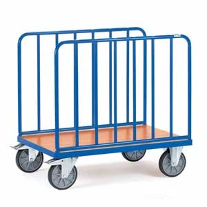 Double Tubular Sided Platform Trucks