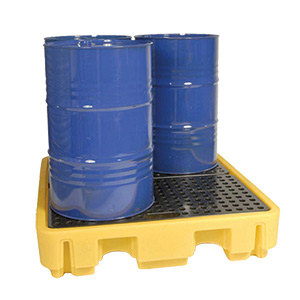 Drum Storage Spill Containment Pallets