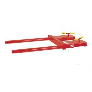 Drum Tines forklift attachment