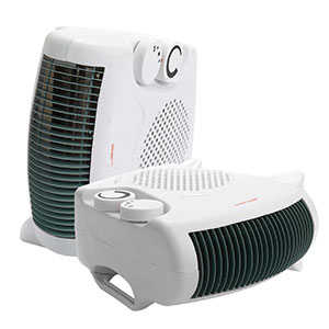 Dual Position Fan Heater/Cooler