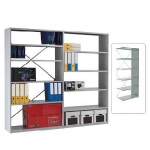 Duo Shelving - Open Back Extension Bays with 6 Shelves
