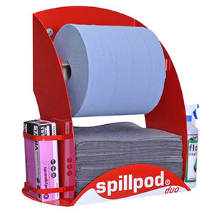 Duo Spill Pod Dispenser Station