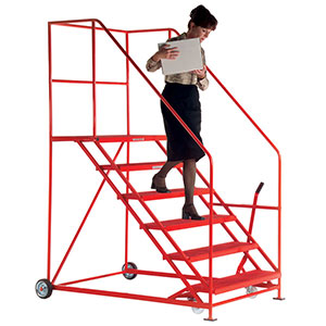 Easy Slope Safety Steps 1000mm wide 3 to 12 Metal Treads
