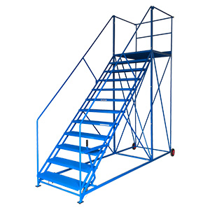 Easy Slope Safety Steps 1000mm Wide Punch Treads