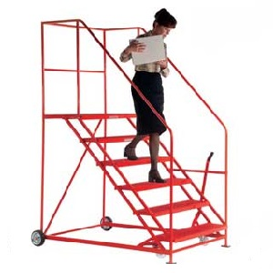 Easy Slope Safety Steps 559mm Wide 3 to 12 Metal Treads