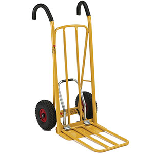 Easy Tip Hand Truck with Ergonomic Handles, 250kg Capacity