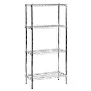 Eclipse Chrome Wire Shelving