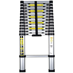 Telescopic Extension Ladder with 10 Treads