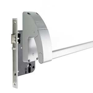 Emergency Exit Push Bar & Pad mortice & night latches