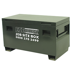 Job-site Lockable Storage Boxes