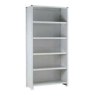 Euro Shelving Fully Clad Bays with 6 shelves