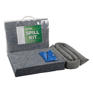 EVO Recycled Spill Kits in Clip-top Bags