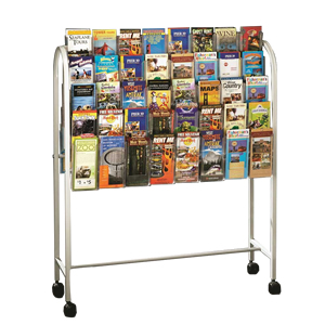 Expanda-stand Mobile Literature Display Units