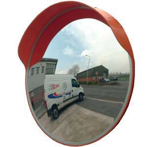 External Convex polycarbonate Mirror
