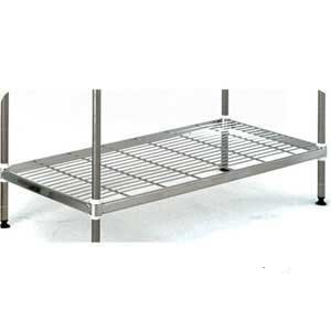 Extra Shelves for QM Stainless Steel Wire Shelving Bays