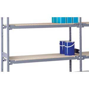 H/D 4-Shelf Level Shelving Bays, 610mm Bay Depth