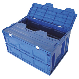 Folding Box with Attached Lid with FREE UK Delivery