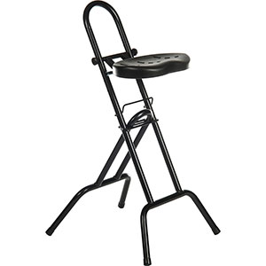 Polyurethane sit-stand support stool