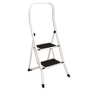 Folding Step Stools with Extended Handrail with FREE UK Delivery