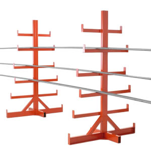 Freestanding Fixed Arm Bar Racks