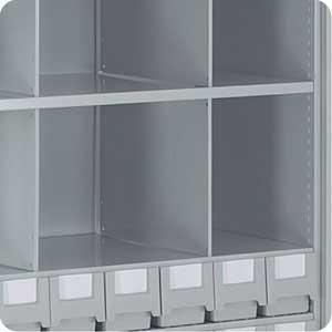 Full Height Shelf Dividers for Stormor Shelving