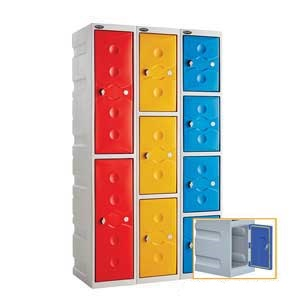 Full Weather Duty Plastic Lockers